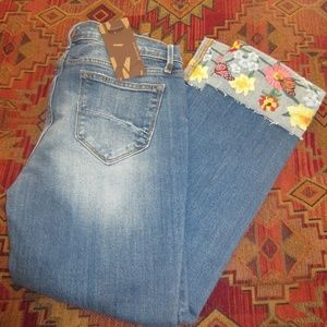 NWT Driftwood Collette Cropped Jeans  size 27